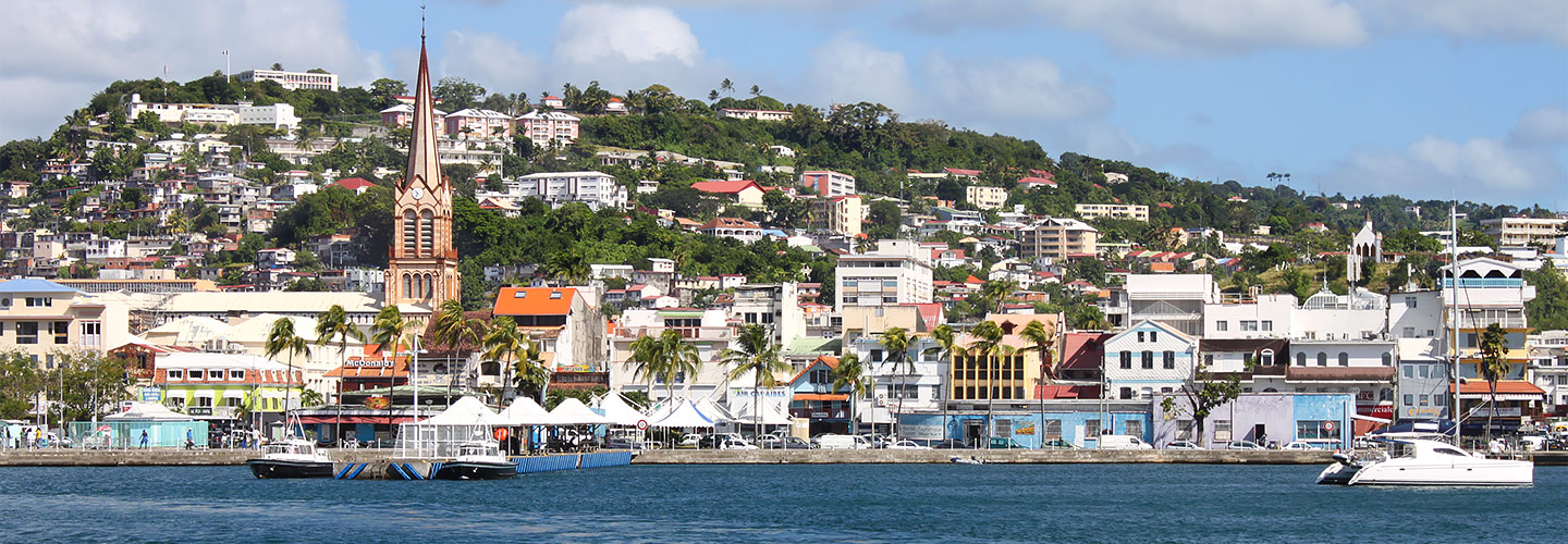 Fort-de-France capital of Martinique