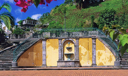 ancient Saint-Pierre theater in Martinique