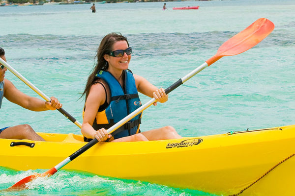 Kayaking in Martinique